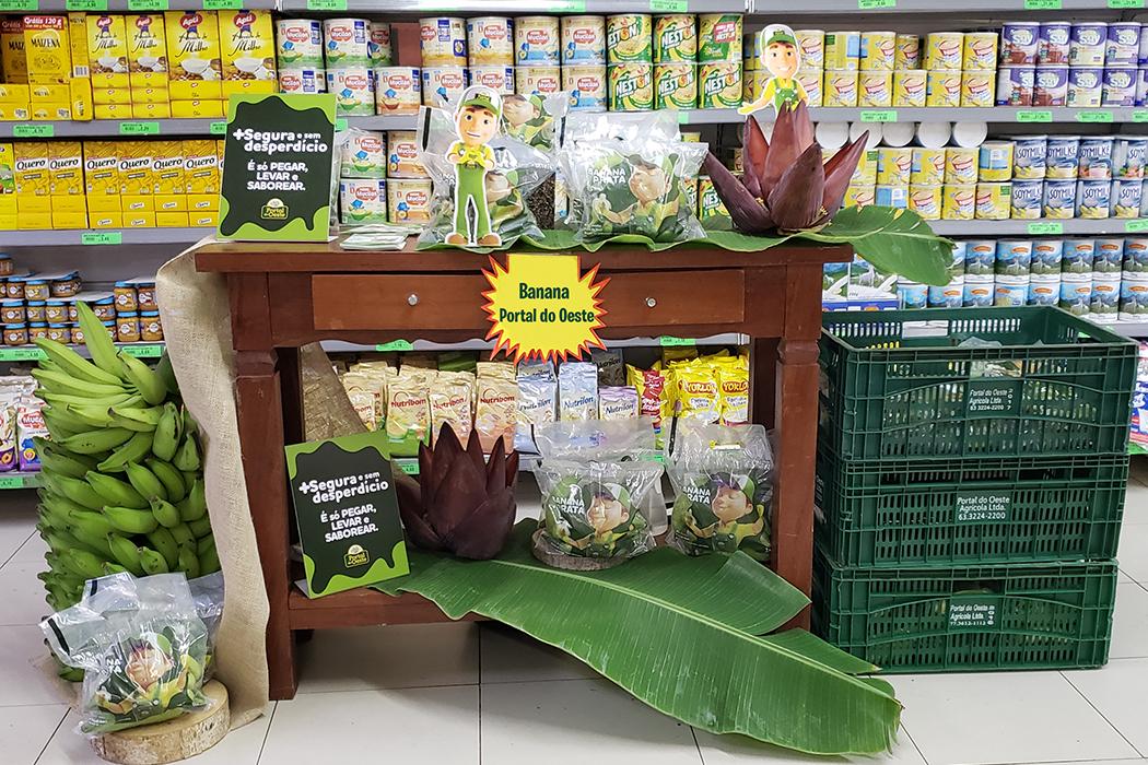 Lançamento no Supermercado Quartetto – Palmas Shopping.